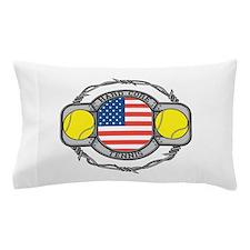 USA Hard Core Tennis Pillow Case