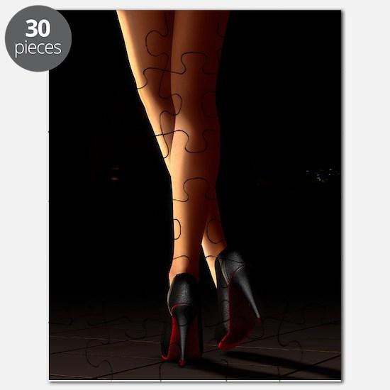 Legs on high heels Puzzle