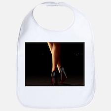 Legs on high heels Bib