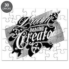 Dream Imagine Create Puzzle