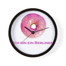 donut.png Wall Clock