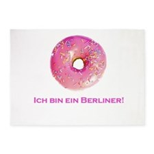 donut.png 5'x7'Area Rug
