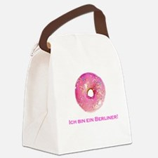 donut.png Canvas Lunch Bag