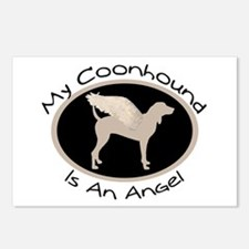 Coonhound is an Angel Postcards (Package of 8)