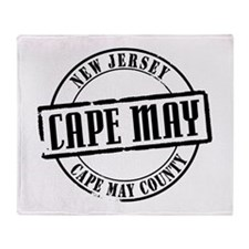 Cape May Title Throw Blanket