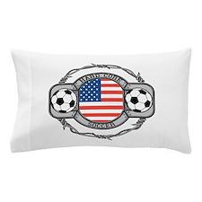 USA Hard Core Soccer Pillow Case