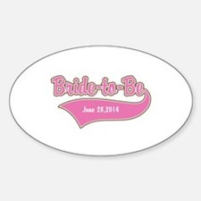 Bride-to-Be Custom Date Decal