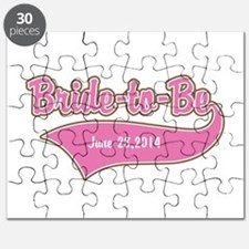 Bride-to-Be Custom Date Puzzle