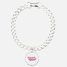 Bride-to-Be Custom Date Bracelet