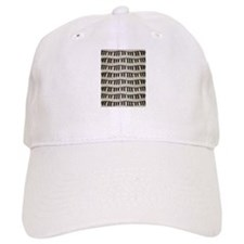 Rock And Roll Piano Keys Baseball Baseball Cap