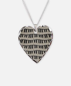 Rock And Roll Piano Keys Necklace