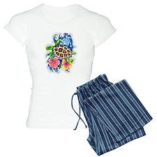 Tropical Sea Turtle Pajamas