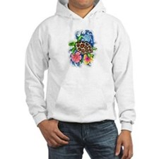 Tropical Sea Turtle Hoodie