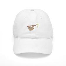 Sloth Baseball Baseball Cap