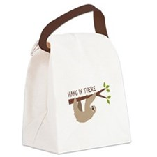 Hang In There Canvas Lunch Bag
