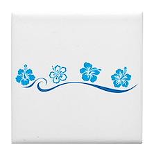 Flower Beach Tile Coaster