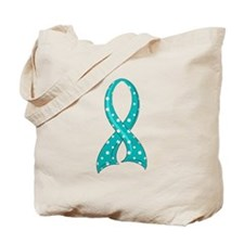 Scleroderma PolkaDotRibbon Tote Bag
