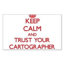 Keep Calm and trust your Cartographer Decal
