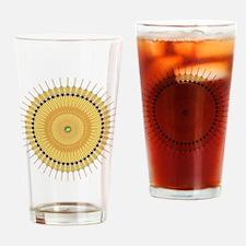 Deco Nouveau Sun Drinking Glass