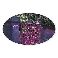 Strawberry Fields Gates Decal