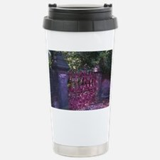 Strawberry Fields Gates Stainless Steel Travel Mug