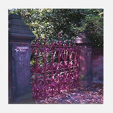 Strawberry Fields Gates Tile Coaster