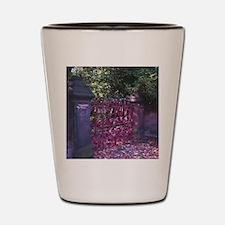 Strawberry Fields Gates Shot Glass
