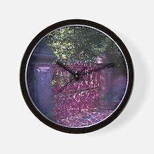 Strawberry Fields Gates Wall Clock