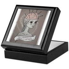 Thinking Keepsake Box