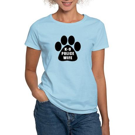K-9 Police Wife Women's Light T-Shirt