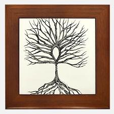 Ankh Tree of LIfe Framed Tile