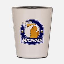 Drink Michigan Shot Glass