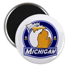 Drink Michigan Magnet