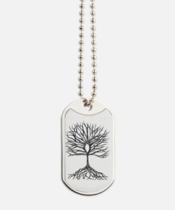 Ankh Tree of LIfe Dog Tags