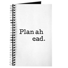 Plan ahead Journal