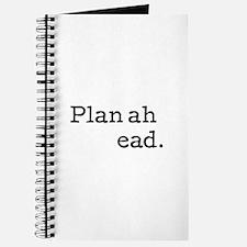 Plan ahead Journal