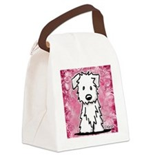 Westie Collage Painting Canvas Lunch Bag