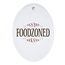 Cannibal Humor Foodzoned Ornament (Oval)