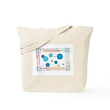 Line Your Circles Tote Bag