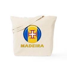 Madeira islands flag Tote Bag