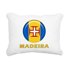 Madeira islands flag Rectangular Canvas Pillow