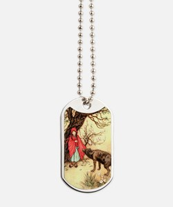Little Red Riding Hood and the Wolf Dog Tags