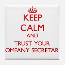 Keep Calm and trust your Company Secretary Tile Co