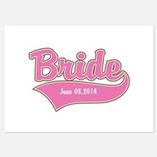 Bride Personalized 5x7 Flat Cards