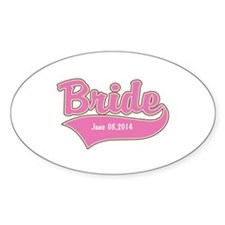 Bride Personalized Decal