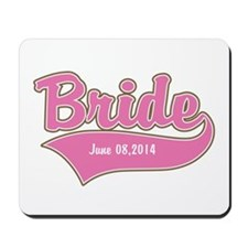 Bride Personalized Mousepad