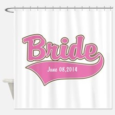 Bride Personalized Shower Curtain