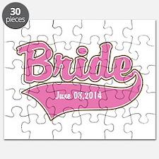 Bride Personalized Puzzle