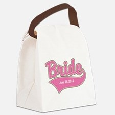 Bride Personalized Canvas Lunch Bag