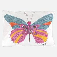 Butterfly Blogger Original Art Pillow Case